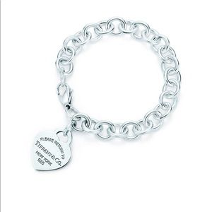 Authentic Tiffany&Co charm bracelet